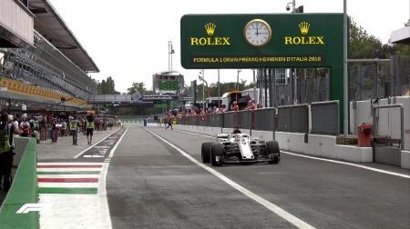 2018年F1第14戦イタリアGP、FP2結果