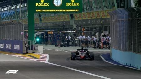 2018年F1第15戦シンガポールGP、FP1結果