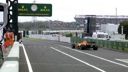2018年F1第17戦日本GP、FP2結果