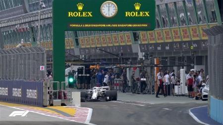 2018年F1第15戦シンガポールGP、FP3結果