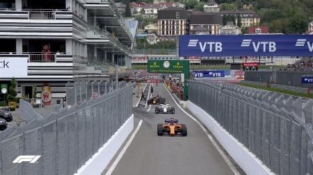 2018年F1第16戦ロシアGP、FP3結果