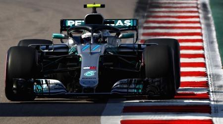 2018年F1第16戦 ロシアGP、PPはボッタス