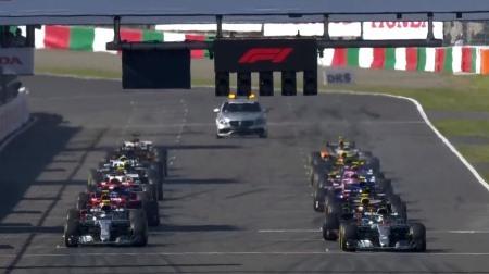 2018年F1第17戦のスタート