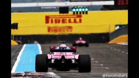 フォースインディアがレーシングポイント・フォースインディアに