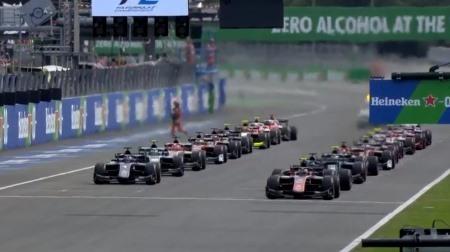 2018F2イタリア決勝レース1結果