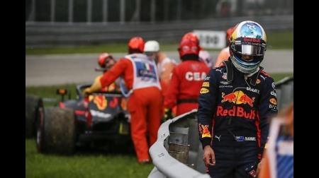 リカルドはクラッチトラブルでリタイア@F1イタリアGP