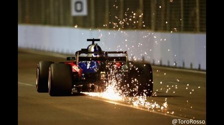 トロロッソ・ホンダ、中団下位に沈む@F1シンガポールGP予選