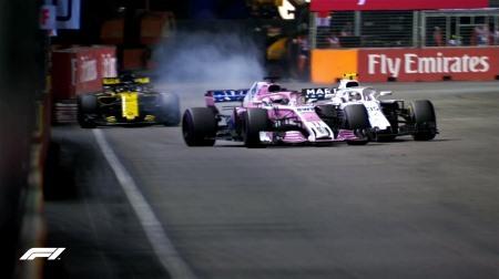ペレスにペナルティ@F1シンガポールGP