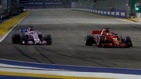 「俺たちのフェラーリ」ここに極まれり@F1シンガポールGP