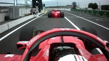 俺たちのフェラーリ@F1日本GP予選