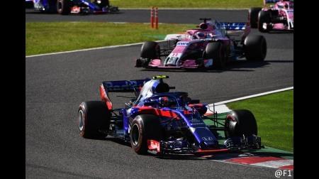 トロロッソ・ホンダ、スタート直前にPUセッティングの変更を余儀なくされる@F1日本GP