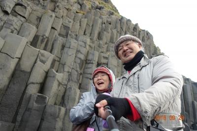 柱状節理アイスランド黒砂海岸