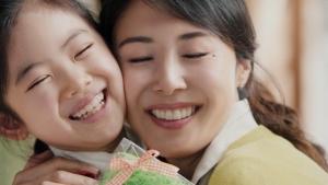 松嶋菜々子&阿由葉さら紗 大正製薬パブロンSゴールドW「二人でお菓子作り」篇0021