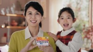 松嶋菜々子&阿由葉さら紗 大正製薬パブロンSゴールドW「二人でお菓子作り」篇0023