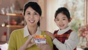松嶋菜々子&阿由葉さら紗 大正製薬パブロンSゴールドW「二人でお菓子作り」篇0024