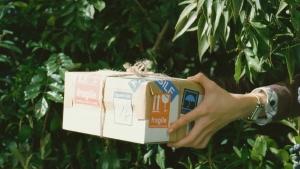 宮崎あおい クリーム玄米ブラン 「自然素材を会社で」篇0005