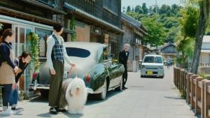 吉岡里帆 ダイハツ トコット「狭い道」篇0004