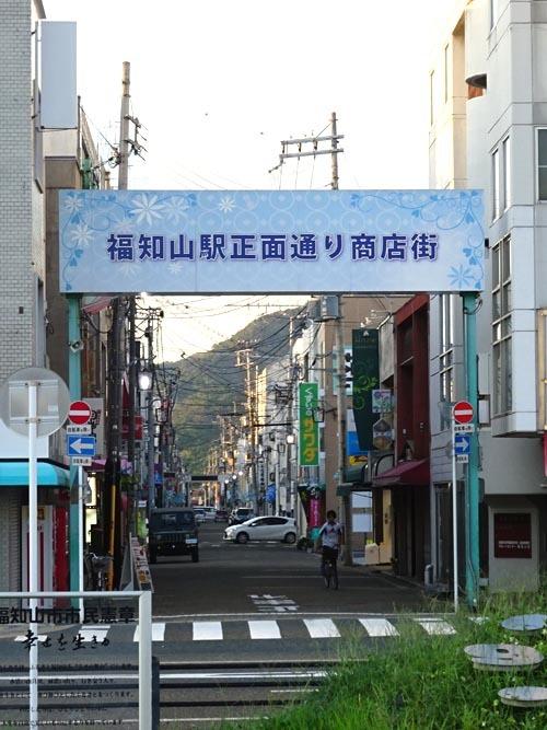 31福知山駅正面通り