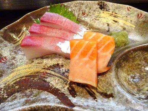 47鮮魚お造りカンパチサーモン