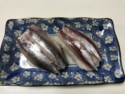 マイワシの握り寿司