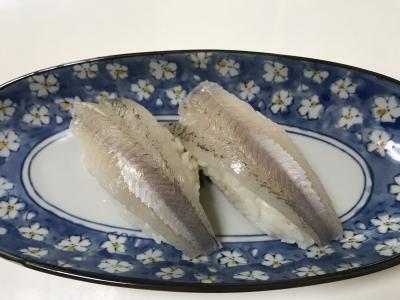 セイゴの握り寿司