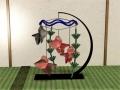 金魚鉢モビール1