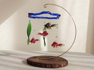 金魚鉢モビール4