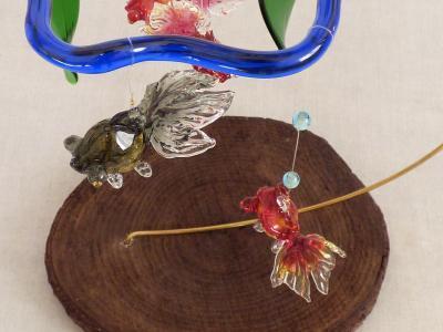 金魚鉢モビール8