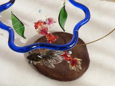 金魚鉢モビール9