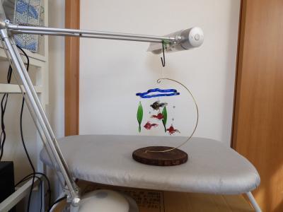 金魚鉢モビール16