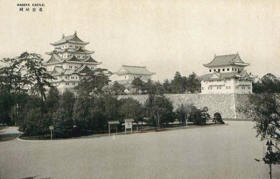 00-名古屋城 天守閣と東南隅櫓-00