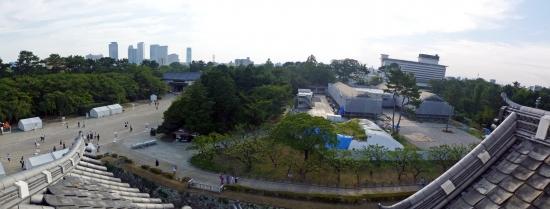 00-panorama 西南隅櫓-01