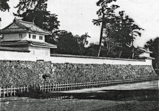 00-徳川慶勝が撮影した名城二ノ丸隅櫓写真-001