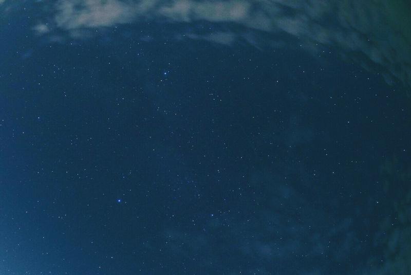 ペルセウス座流星群 2018 夏の大三角