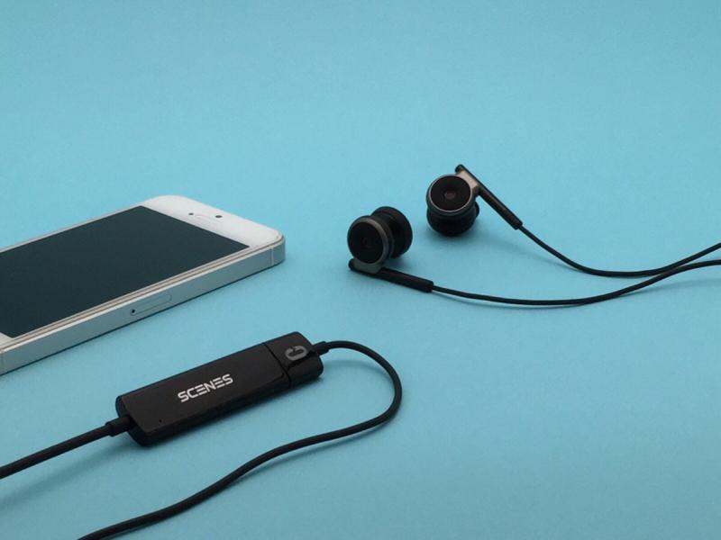 Alternative Life Tool #37 SCENES Lifelike VR Recording Earphone Binaural Microphone