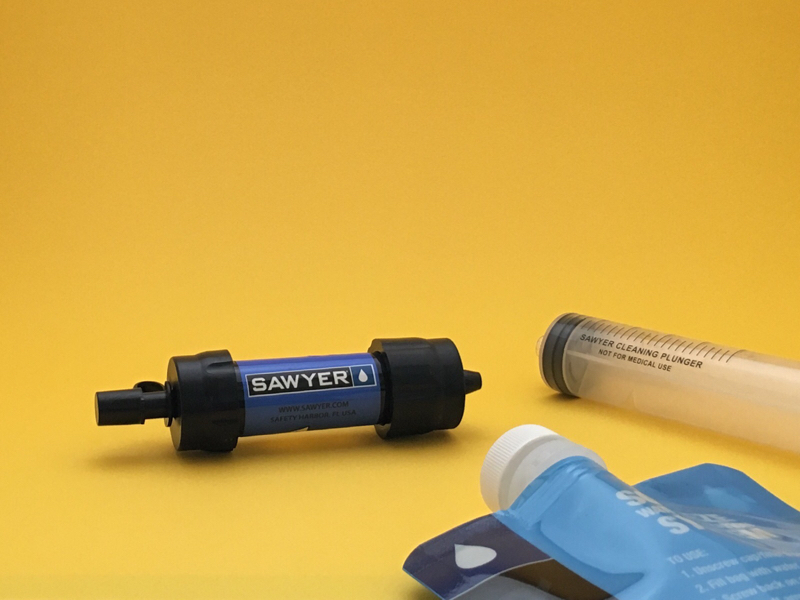 Alternative Life Tool #38 SAWYER mini SP128 WATER FILTRATION SYSTEM