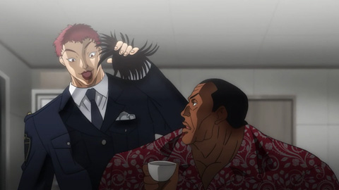 ドイルの婦警コスプレ(4)