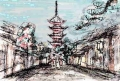 京都三年坂八坂の塔