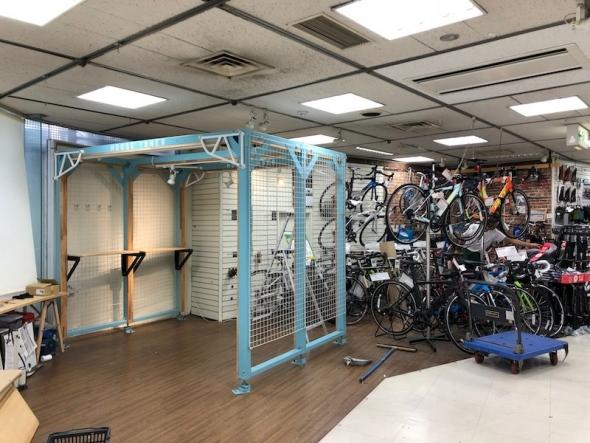 ハンズ 自転車売り場