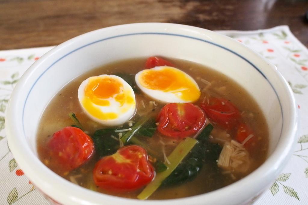 ■ 酸辣湯麺(自作)