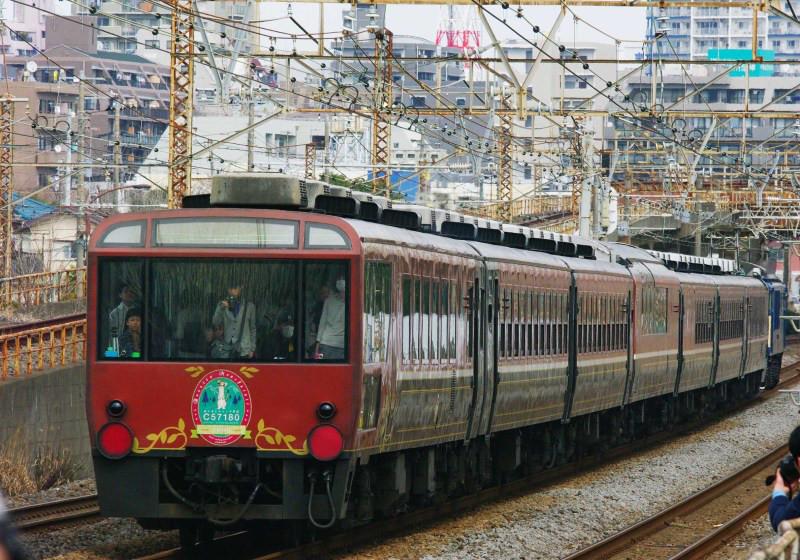 ばんえて物語 12系客車  東海道線 急行 伊豆・箱根ものがたり号 平塚 大磯 撮影地 続・シリウスの線路際のロマンを求めて