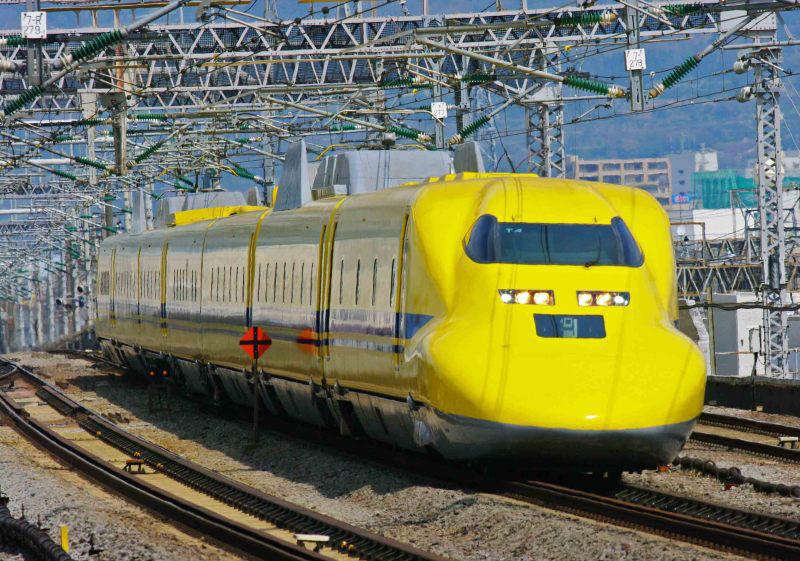 東海道新幹線 ドクターイエロー 923形 T4編成 小田原駅 続・シリウスの線路際のロマンを求めて