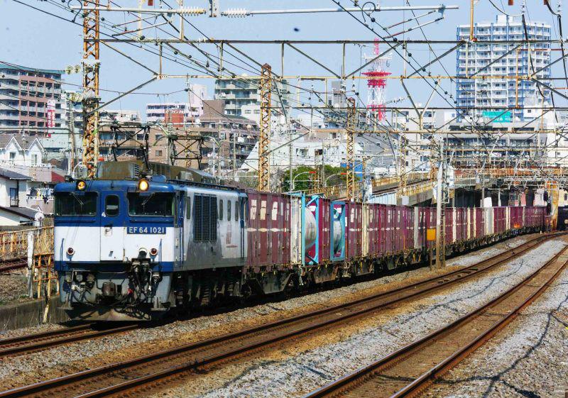 EF64-1000 3075ㇾ 平塚 大磯 相模貨物 東海道線 続・シリウスの線路際のロマンを求めて 首都圏運用