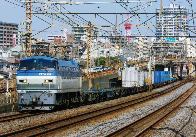 EF66 5095ㇾ 1077ㇾ 平塚 大磯 相模貨物 東海道線 続・シリウスの線路際のロマンを求めて