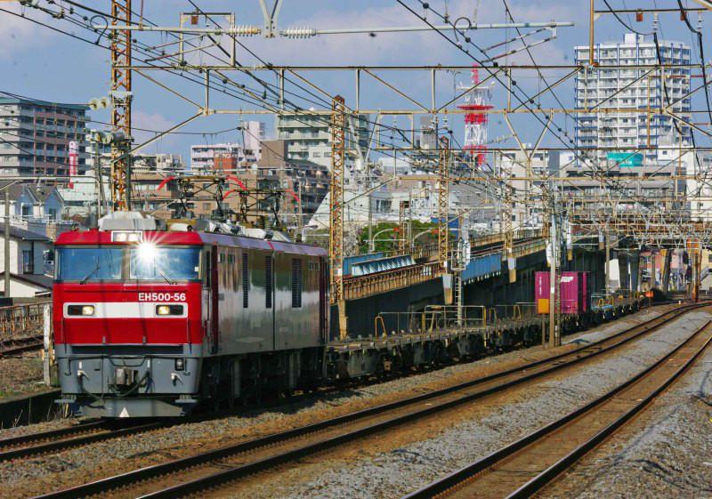 EH500 金太郎 2079ㇾ 武蔵野線 ニューカマー 平塚 大磯 相模貨物 東海道線 続・シリウスの線路際のロマンを求めて