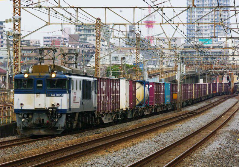 EF64-1000 ロクヨン 平塚 大磯 東海道線 3075ㇾ 続・シリウスの線路際のロマンを求めて