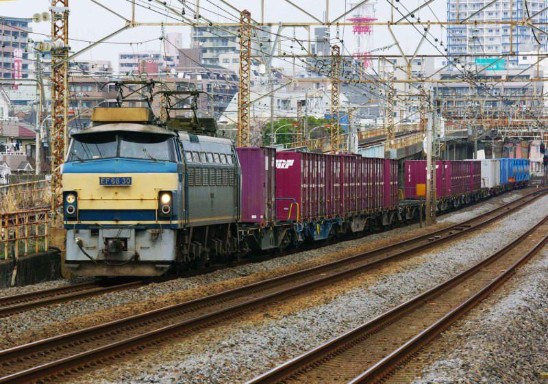 EF66 ゼロロク 平塚 大磯 東海道線  5095ㇾ 続・シリウスの線路際のロマンを求めて