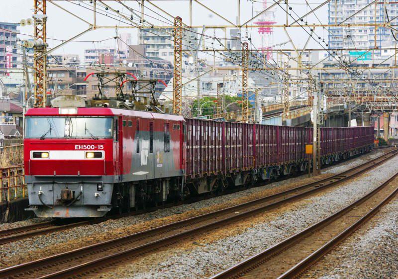 EH500 金太郎 平塚 大磯 東海道線 ニューカマー 2079ㇾ 続・シリウスの線路際のロマンを求めて