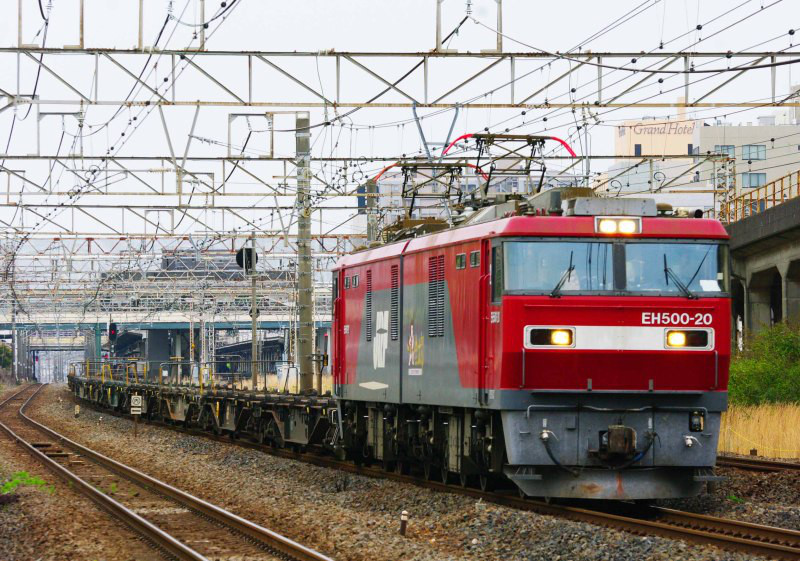 EH500 金太郎 東海道線 平塚 大磯 2079ㇾ 貨物列車 撮影地