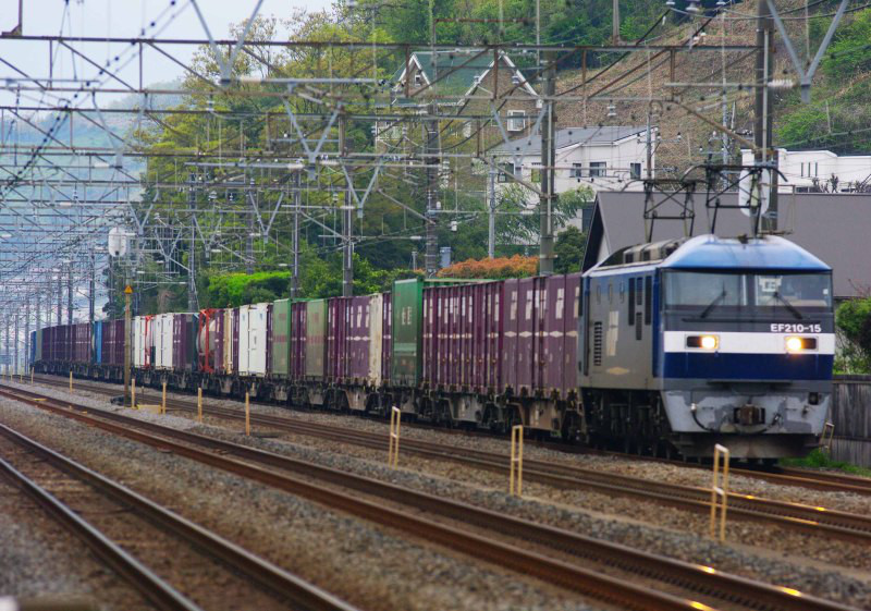 東海道線 大磯 二宮 貨物列車 撮影地 東海道熱海口貨物